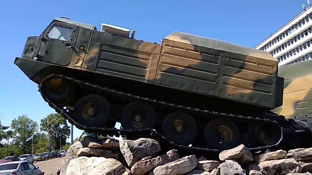 Болотоход Витязь ДТ-30